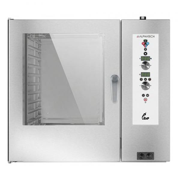 Alphatech ALVES102 10-bin Combi Oven, Digital (GN2 / 1) Combi streamer ovens