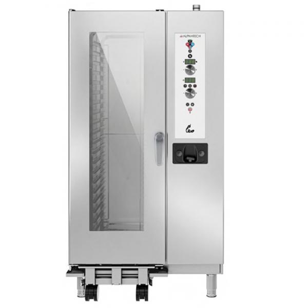 Alphatech ALVES201 20-bin combi oven, Digital Combi streamer ovens