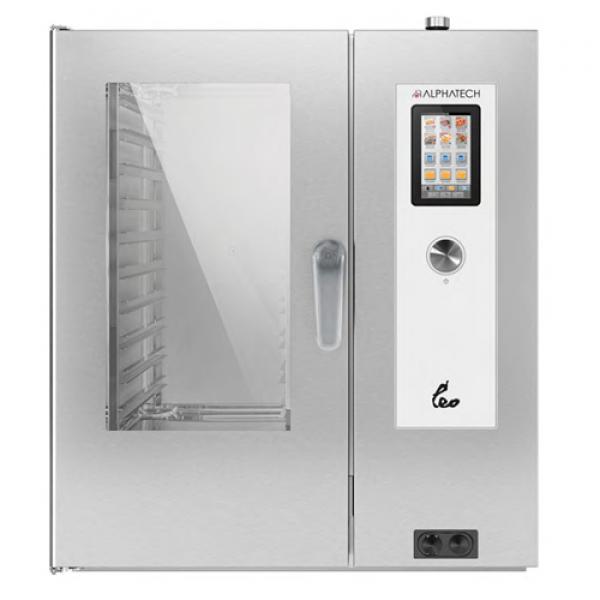Alphatech ALVET101 10-bin combi oven, Touchscreen Combi streamer ovens