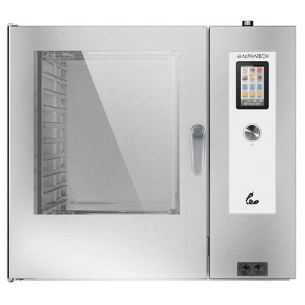 Alphatech ALVET102 10-bin combi oven, touch screen GN2 / 1 Combi streamer ovens