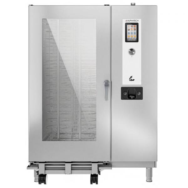Alphatech ALVET202 20-bin combi oven, touch screen GN2 / 1 Combi streamer ovens