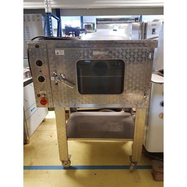 Wiesheu air oven - 4 x 60x40 cm Combi streamer ovens