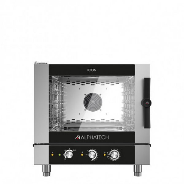 ALPHATECH® ICON-M 5xGN1 / 1 combi oven Combi streamer ovens