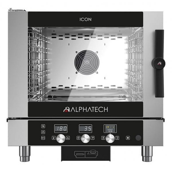 ALPHATECH® ICON-T 5xGN1 / 1 combi oven