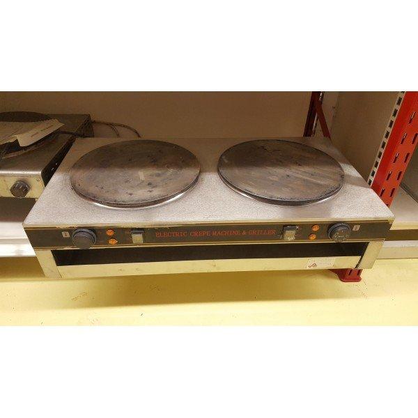Double Electric Pancake Oven - JB35-2 Pancake maker