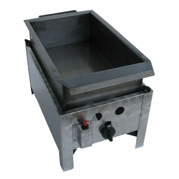 GG BGS-1 L Table lángossütő steel pan PB  scone  ovens
