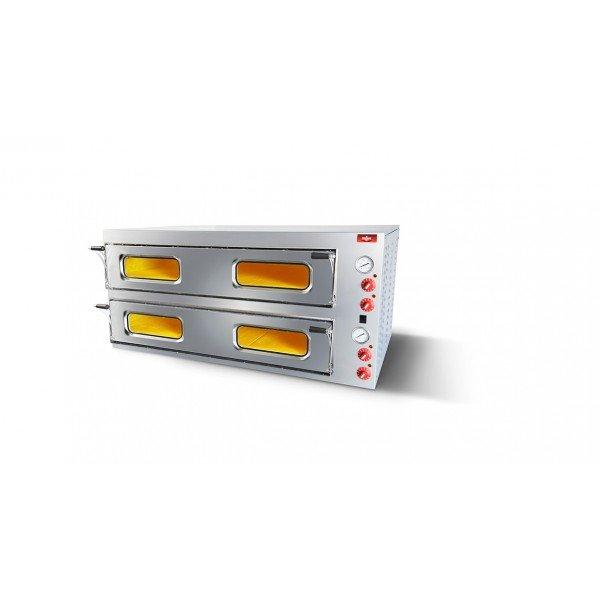 Electric pizza oven 6 + 6, FerraraForni FF66 Pizza ovens