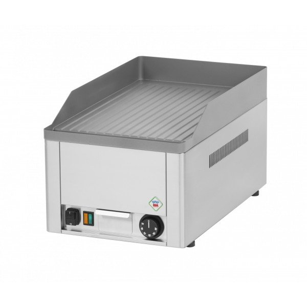RM Gastro FTR 30 E, fiber sheet ribbed table, electric Griddle / Gridle plate