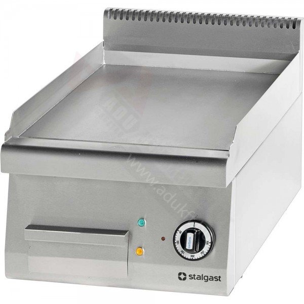 Stalgast electric flap without bottom - 400 smooth Griddle / Gridle plate