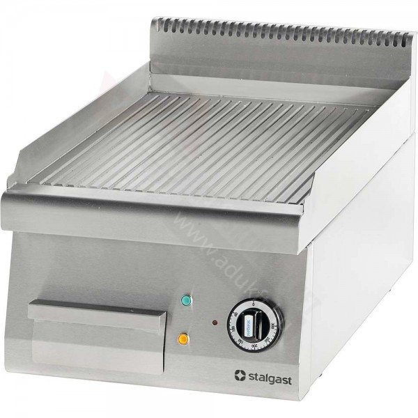 Stalgast electric board without bottom - 400 ribbed Griddle / Gridle plate