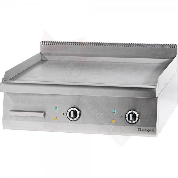 Stalgast electric sheet without underside - 800 smooth Griddle / Gridle plate