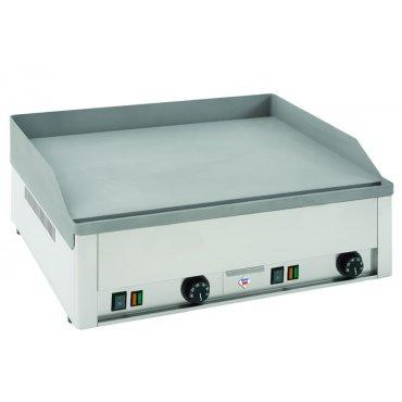 RM Gastro FTH 60 E, flat-leaf table fiber sheet, electric Griddle / Gridle plate