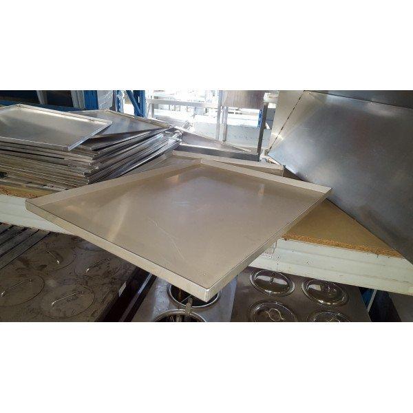 Large baking sheet with aluminum  Plates