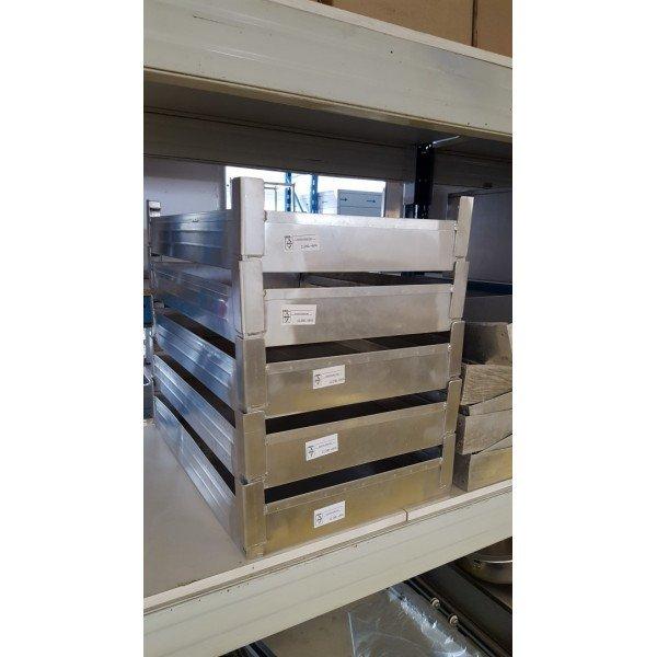 Aluminium confectionery baking - 50,5x76,5x13 cm  Plates