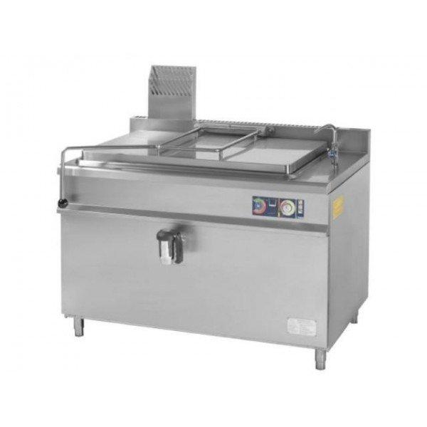 Gasztrometál GLF-201 gas-fired boiling pan 200 liters Kettles