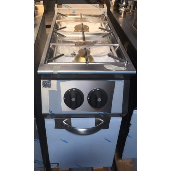 2 burner gas stove with stand Cookers