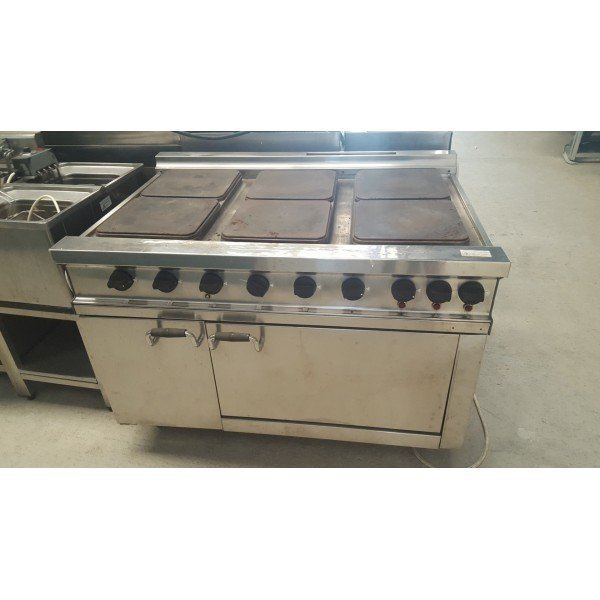 6 electric stove + oven Cookers