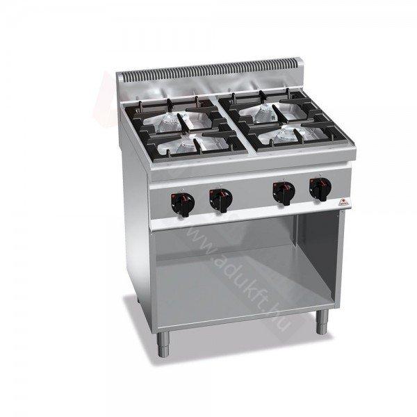 Berto's BG7F4M - 4 burner stove Cookers