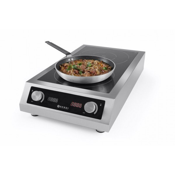 Hendi Duble - double induction hob Induction cooker