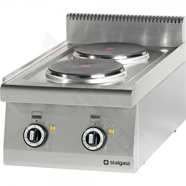 Stalgast 2 flat electric table top with no lower part Cookers