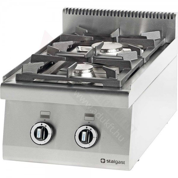 Stalgast 2 burner table gas stove without bottom Cookers