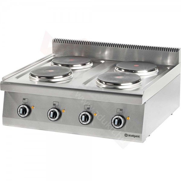 Stalgast 4 flat electric table top without bottom Cookers