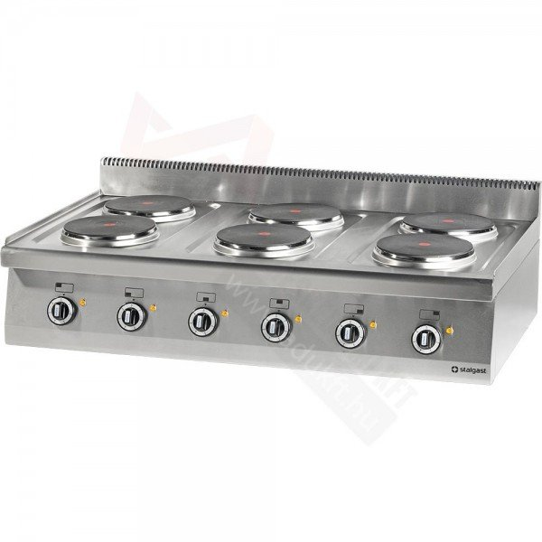 Stalgast 6 flat electric table top with no lower part Cookers
