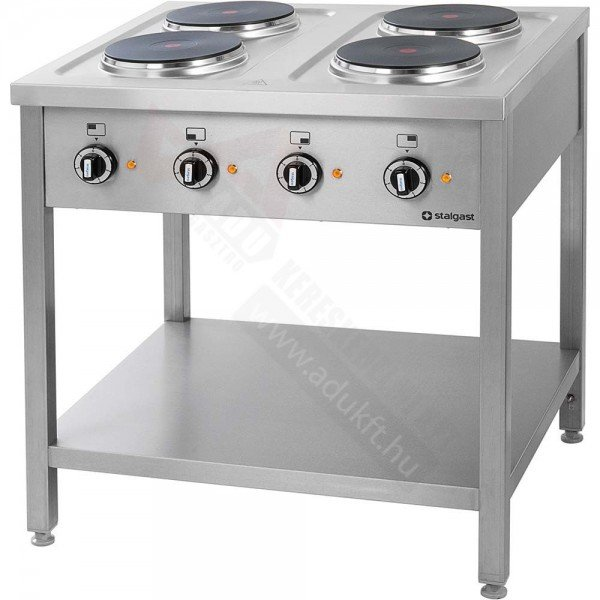 Stalgast 4-Stove Electric Cooker Cookers