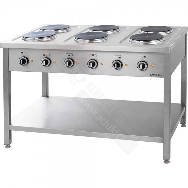 Stalgast 6 flat electric cooker Cookers