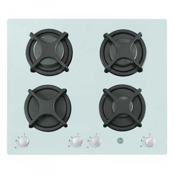 Hoover HGV 6040W - 4-Piece Hob Cooker Cookers