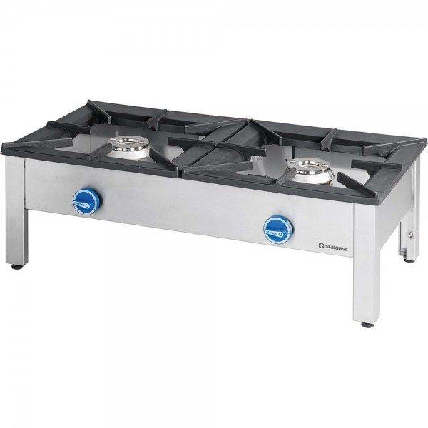 MIDI - Double Gas Grill - 9 + 9 kW Gas stove