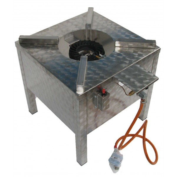 Stainless steel gas stool 7.5 kW  Gas stove