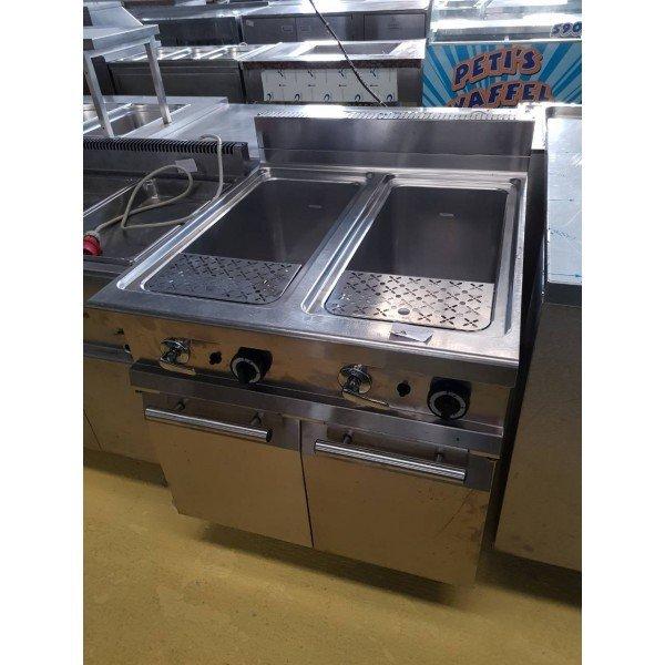 Piacaza Gas Pasta - 2x35 liters Pasta cooker