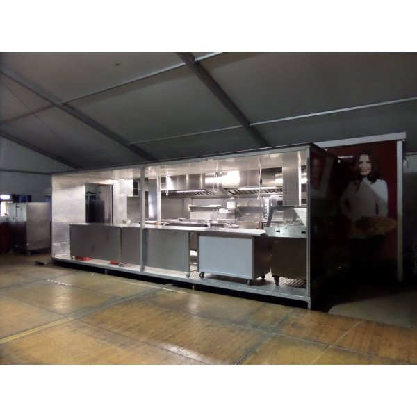 Mobil Kitchen Kitchen and meat Tools