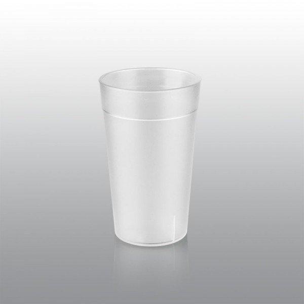 400 ml plastic cup, matt Catering