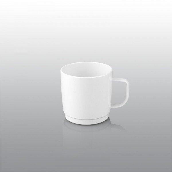 250 ml plastic mug, white Catering