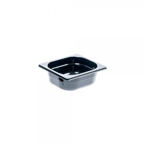 Black polycarbonate container GN 1/1 GN dishes