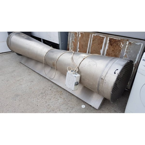 Stainless Air Curtain - BVZ - 2400 Meat Machinery / Equipment