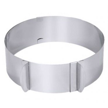 Adjustable cake ring large With Paulina's recommendation!