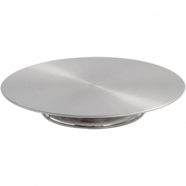 Stainless steel swivel cake stand - 33 cm With Paulina's recommendation!