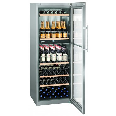 Liebherr WTpes 5972 (2 zones) Vinidor wine cooler (wine temperer) set with storage shelf Wine coolers