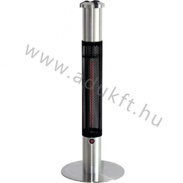 Outdoor heater with ashtray - 110 cm